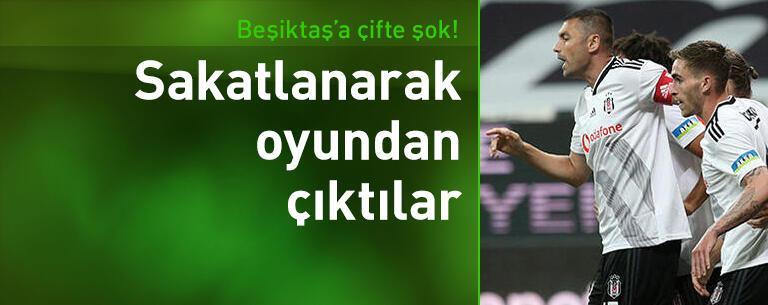 Beşiktaş'ta Burak Yılmaz ve Gökhan Gönül şoku!