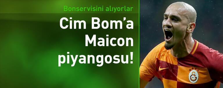 Galatasaray'a Maicon'dan 3 milyon euro