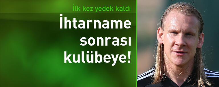 Beşiktaş'a ihtarname çekti, yedek kaldı!