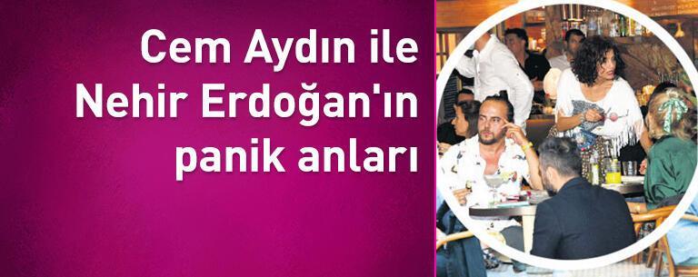 Cem Aydın ile Nehir Erdoğan'ın panik anları