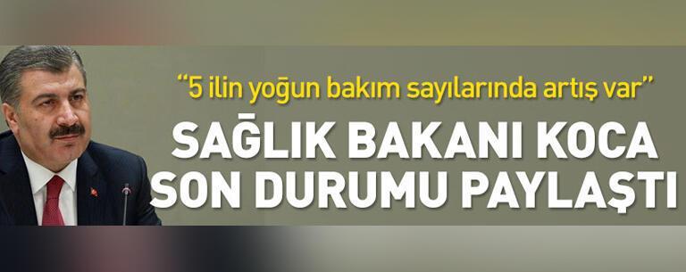 13 Temmuz'da Türkiye'de vaka sayısı kaç oldu? Sağlık Bakanı Fahrettin Koca açıkladı | Video