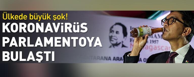 Ülkede büyük şok! Koronavirüs parlamentoya bulaştı