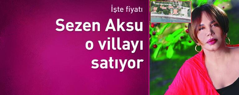 Sezen Aksu Manal Koyu'ndaki villasını satıyor