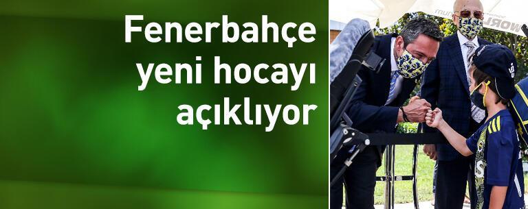 Fenerbahçe yeni hocayı açıklıyor