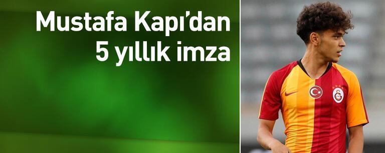 Mustafa Kapı'dan 5 yıllık imza