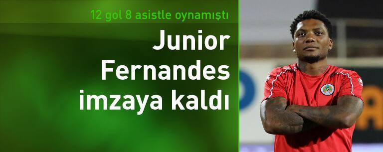 Junior Fernandes imzaya kaldı!