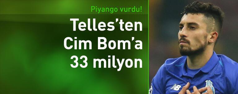 Telles'ten Galatasaray'a 33 milyon TL