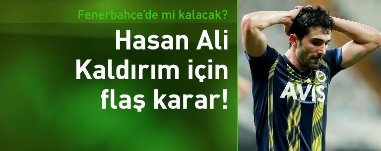 Başakşehir'den Hasan Ali Kaldırım kararı