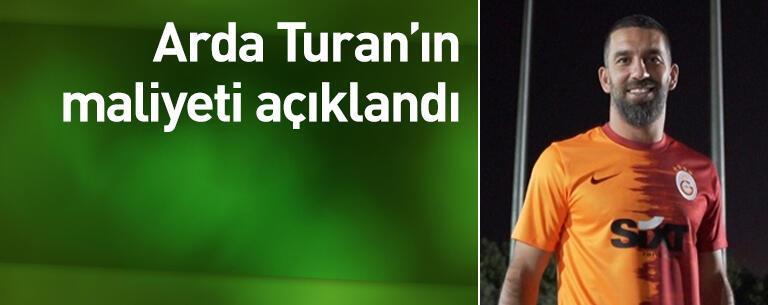 Arda Turan'ın maliyeti açıklandı
