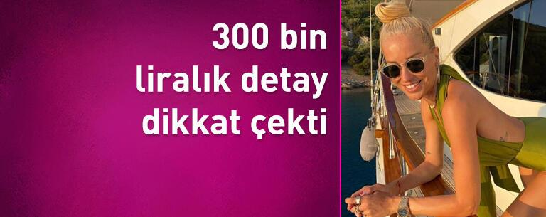 Burcu Esmersoy'un fotoğrafındaki 300 bin liralık detay