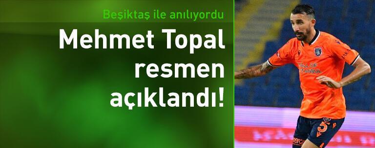 Mehmet Topal resmen açıklandı!