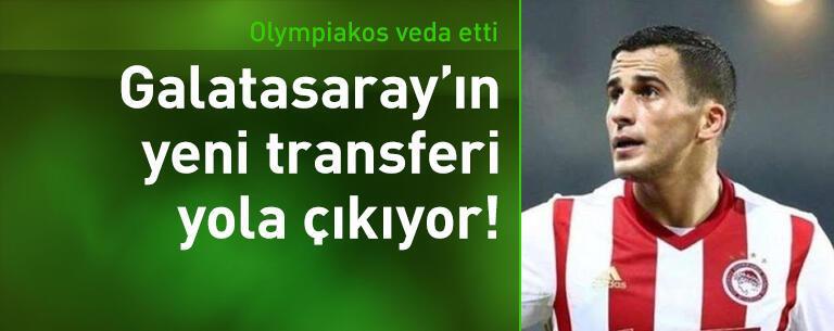 Olympiakos elendi Elabdellaoui geliyor!