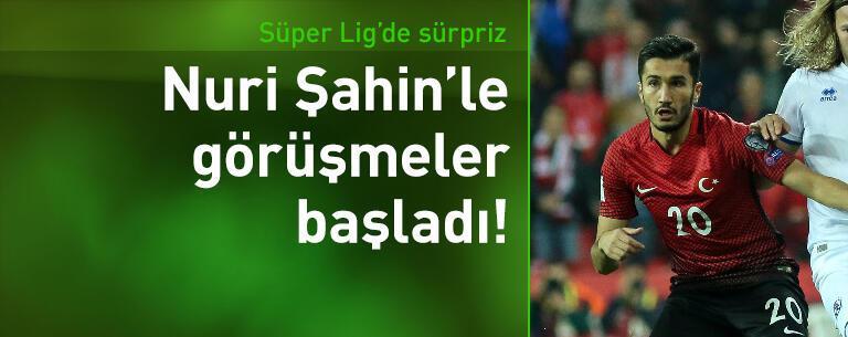 Antalyaspor Nuri Şahin'le görüşmelere başladı!