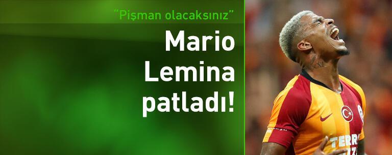Mario Lemina: Pişman olacaksınız!