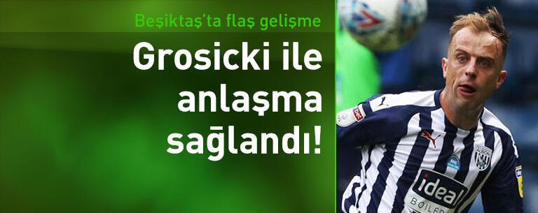 Beşiktaş, Kamil Grosicki ile prensipte anlaştı!