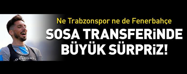 Jose Sosa transferinde sürpriz!