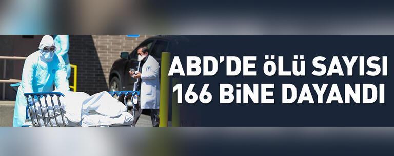 ABD'de ölü sayısı 166 bine dayandı