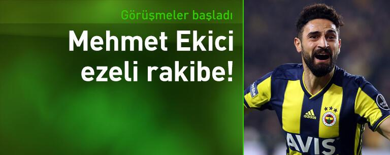 Galatasaray Mehmet Ekici'ye görüşmelere başladı