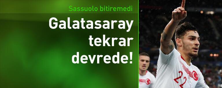 Sassuolo bitiremedi, Galatasaray tekrar devrede!