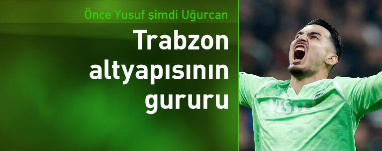 Trabzonspor altyapısının gurur kaynağı