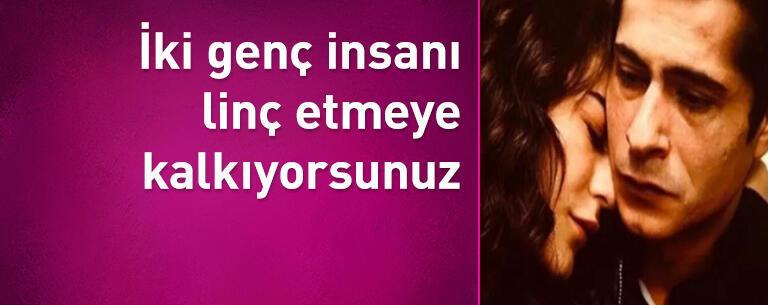 İsmail Hacıoğlu: İki genç insanı linç etmeye kalkıyorsunuz