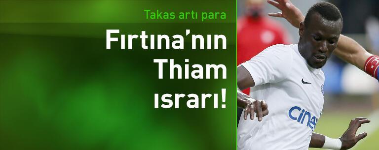 Trabzonspor'un Mame Thiam ısrarı!