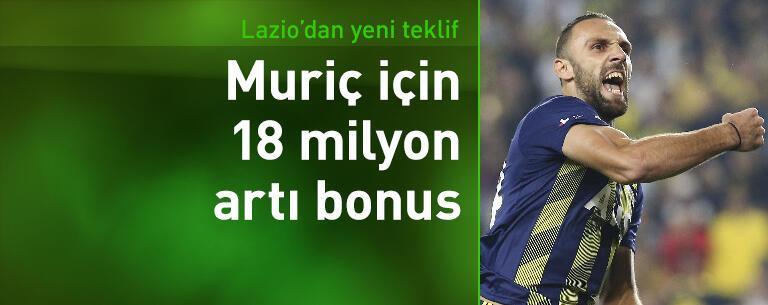 Muriç için 18 milyon euro artı bonus