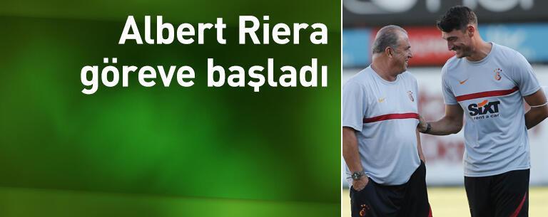 Albert Riera göreve başladı