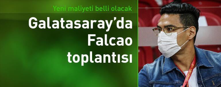 Galatasaray'da Falcao toplantısı