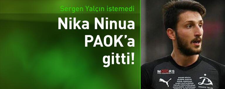 Sergen Yalçın istemedi, PAOK'a gitti!