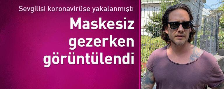Mithat Can Özer maske kuralını hiçe saydı!