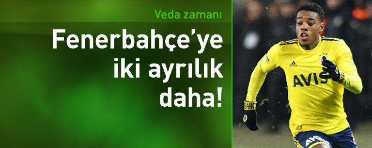 Fenerbahçe'de 2 ayrılık daha!