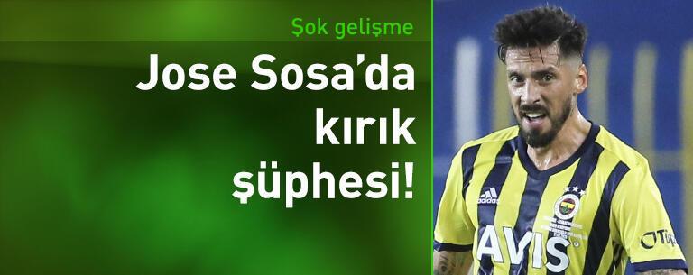 Jose Sosa'da kırık şüphesi!