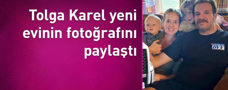 Tolga Karel yeni evinin fotoğrafını paylaştı: Hayırlı olsun