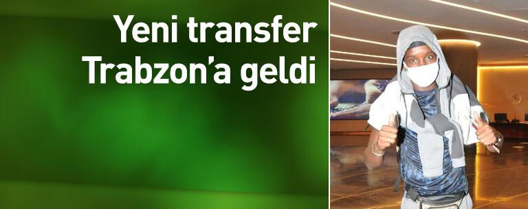 Yeni transfer İstanbul'a geldi