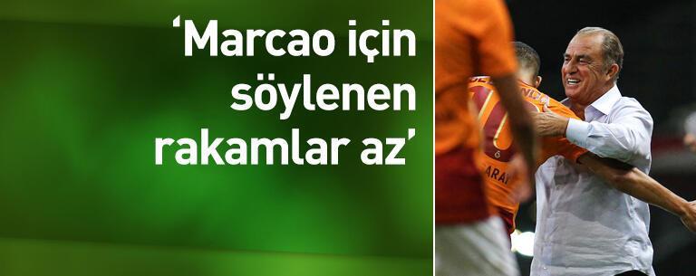 'Marcao için söylenen rakamlar az'