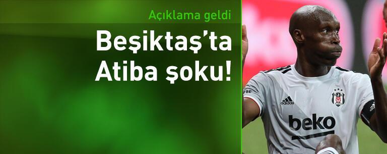 Beşiktaş'tan Atiba Hutchinson açıklaması