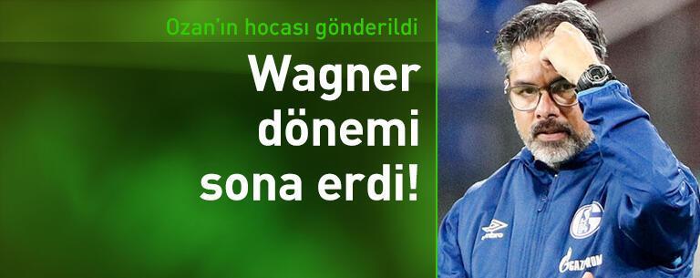 Schalke'de Wagner dönemi sona erdi!