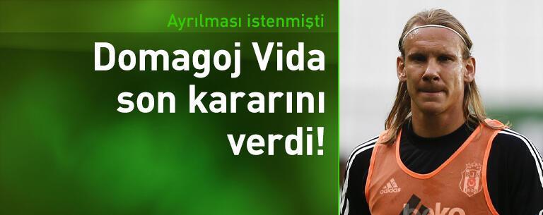 Vida Beşiktaş'tan ayrılmıyor!