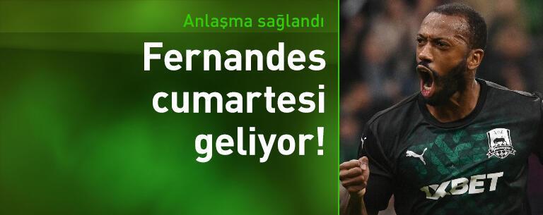 Manuel Fernandes cumartesi geliyor