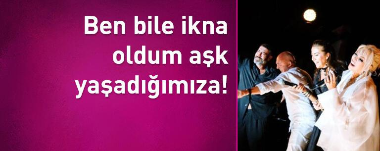 Ajda Pekkan konuştu: Ben bile ikna oldum aşk yaşadığımıza!
