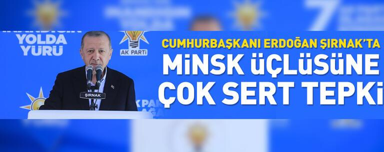 Minsk üçlüsüne çok sert tepki