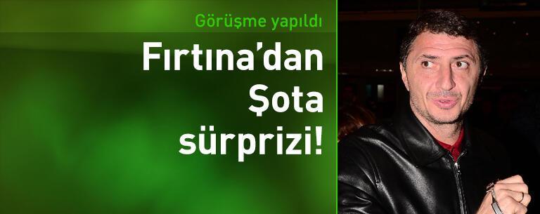 Trabzonspor'dan Şota sürprizi!