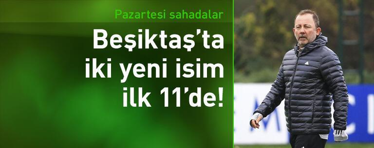 Beşiktaş'ta yeni transferler ilk 11'e!