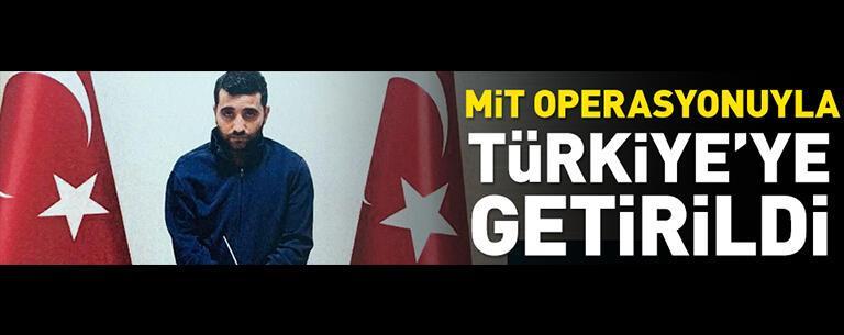 PKK'lı Ferhat Tekiner MİT operasyonuyla Türkiye'ye getirildi