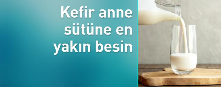 Sağlığa olan faydalarıyla bilinen kefir anne sütüne en yakın besin