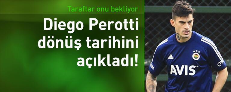 Diego Perotti dönüş tarihini açıkladı!