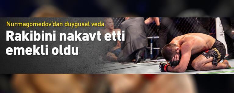 Nurmagomedov emekli oldu