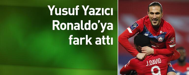 Yusuf Yazıcı Ronaldo'ya fark attı