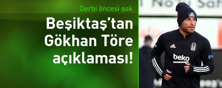 Beşiktaş'tan Gökhan Töre açıklaması!
